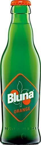 Bluna Orange - 70iger 80iger Jahre Kult - in original Glasflasche