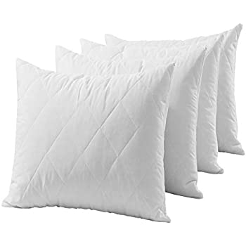 Luxury Quilted Zipped Pillow Protector