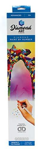Diamond Art By Leisure Arts DMA Kit 14x16 Advanced Giraffe, None