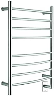 EliteSteam Towel Warmer (Brushed Stainless Steel)