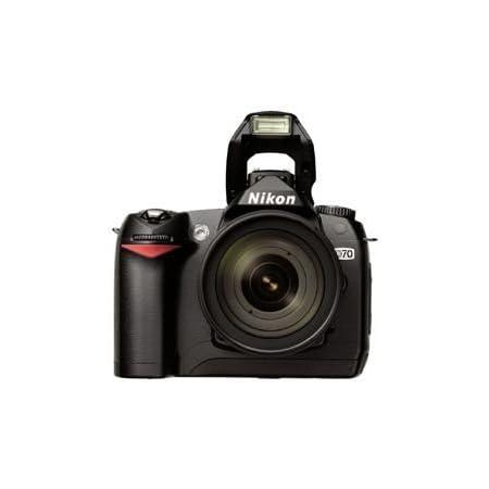 Nikon D 70 Kit Digitale Spiegelreflexkamera Inkl Dx Kamera