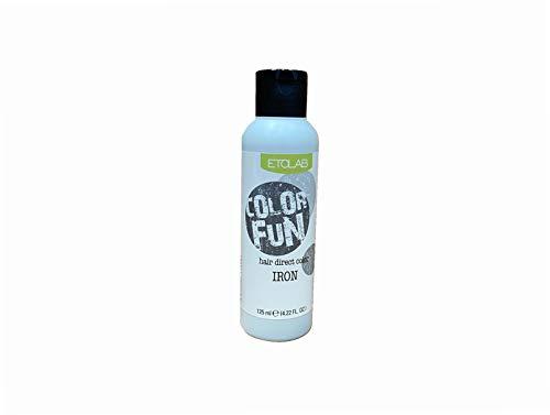 Etolab, colorazione semipermanente per capelli, 3x125 ml, argento