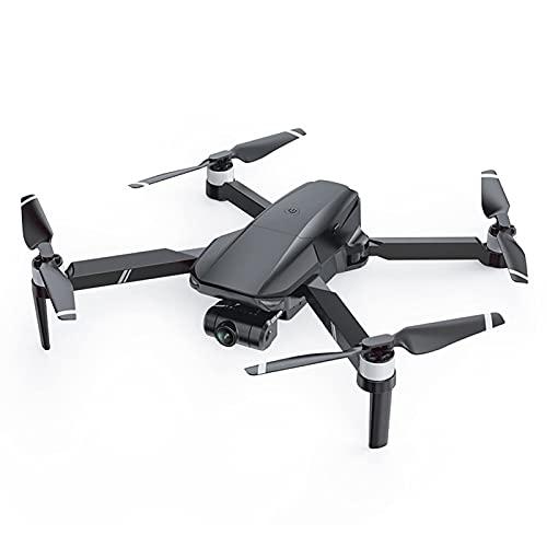 JANEFLY Dron GPS con cámara 4K, cardán de 2 Ejes para Adultos, cuadricóptero RC con Motor sin escobillas, Video en Vivo 5G FPV, 25 Minutos de Vuelo, Retorno automático, Estuche de Transporte