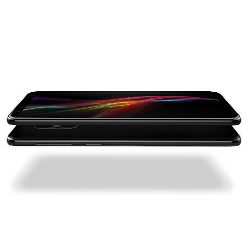 BLU Pure View -32GB +3GB RAM, 5.7 HD+ 18:9 Display Smartphone with Dual Front Selfie Cameras -Black
