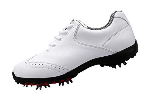 PGM Imperméables Chaussures de Golf pour Femmes avec...