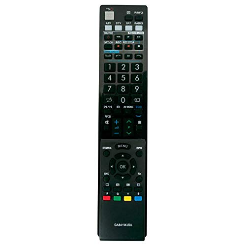 VINABTY GA841WJSA Fernbedienungsersatz für Sharp AQUOS TV LC-60lE822E LC-60lE822ERU LC-40lE820ERU LC-46lE820E LC-46lU820E LC-40lE810E LC-46lE810E LC-52lE822E