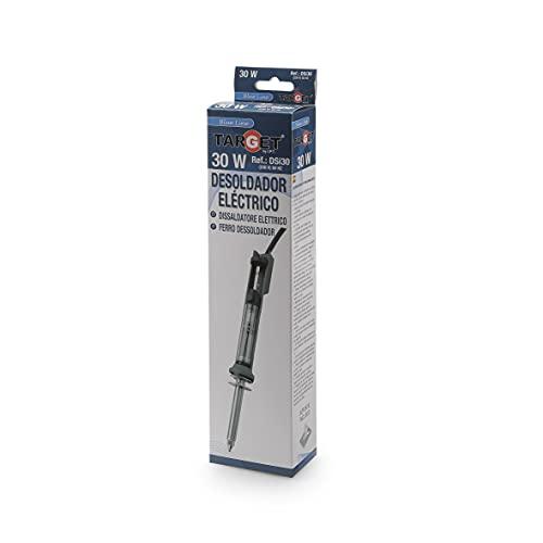 TARGET DSI30 - Dissaldatore elettrico - Dissaldatore di stagno - 230 V - 50 Hz - Elettronica - Estrattore di stagno - Con supporto