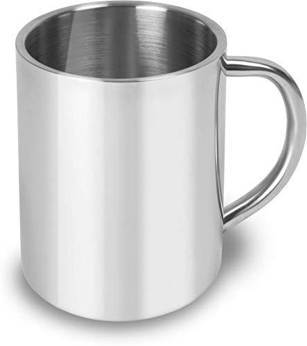 normani 1-4 Edelstahl Outdoor Tassen   Kaffee Tasse 250 ml   doppelwandig isoliert Farbe 1