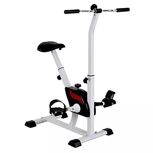 Bicicleta Estática Plegable Cardio Training Fitness Niveles De Resistencia Magnética Pantalla Entrenamiento Con Sensor De Frecuencia Cardiaca, Bicicleta Estática Ciclo Indoor, Sillín Ajustable