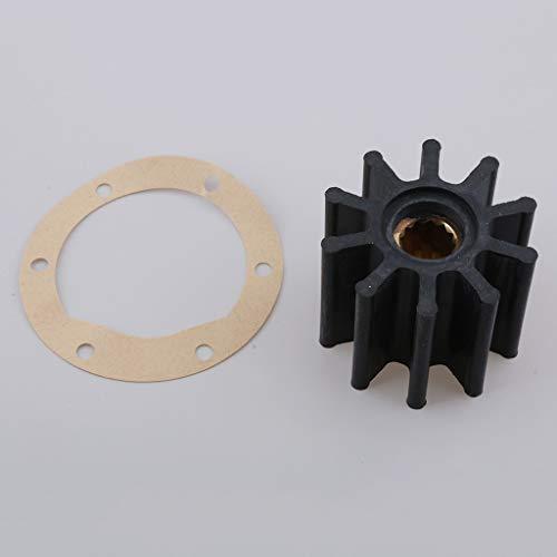 Joyfulstore- Rubber Impeller Repair Service Kit Set For Jabsco Sea Water Pump Replaces# 17937-0001