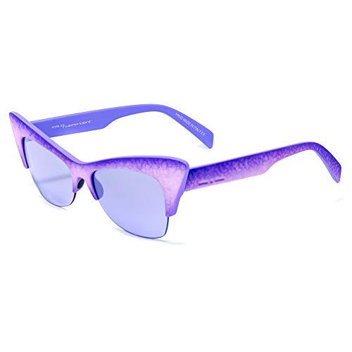 italia independent 0908-014-016 Gafas de sol, Morado, 59 para Mujer