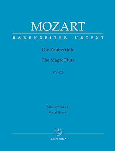 Die Zauberflöte KV 620 -Eine deutsche Oper in zwei Aufzügen-. Klavierauszug, Urtextausgabe
