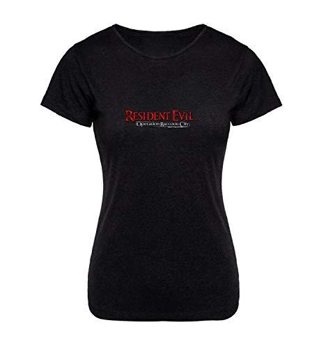 Resident Evil Operation Raccoon City_A0122 T-Shirt Shirt Frau Hemd T Shirt para Woman Women Present Weihnachten 2XL Women Black