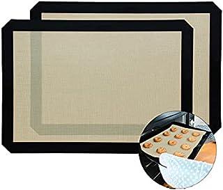 jwj Tapis de cuisson anti-adhésif en fibre de gel de silice pour enfants Couleur : 42,5 x 29 cm