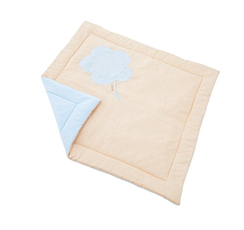 Hoppe Kids Couverture de Jeu réversible pour enclos Ida Fairytale Knight textilie, 100% Coton, Tissu, Bleu Clair, 100 x 100 x 1 cm