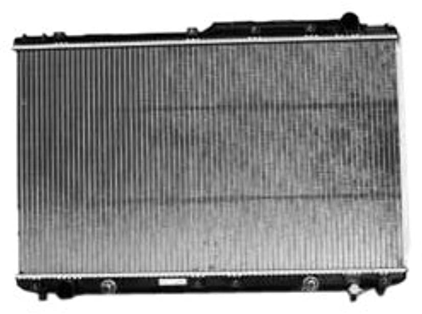TYC 1746 Toyota/Lexus 1-Row Plastic Aluminum Replacement Radiator