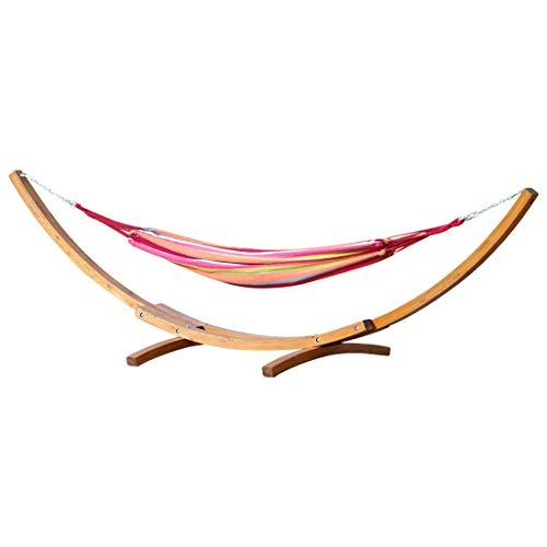 ASS Mona Hamac XXL de qualité en mélèze Multicolore 410 cm
