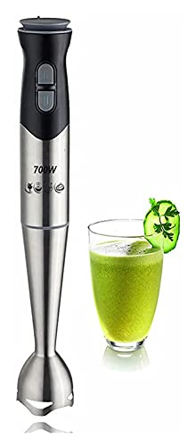 Blender Mano -Blender,Procesador de alimentos de trituradora,700 W,Mano Blender,Mezclador de salsa Mejores de mano for cocinas Blender Inmersión Blender Blender Stick Blender Alimento Blender