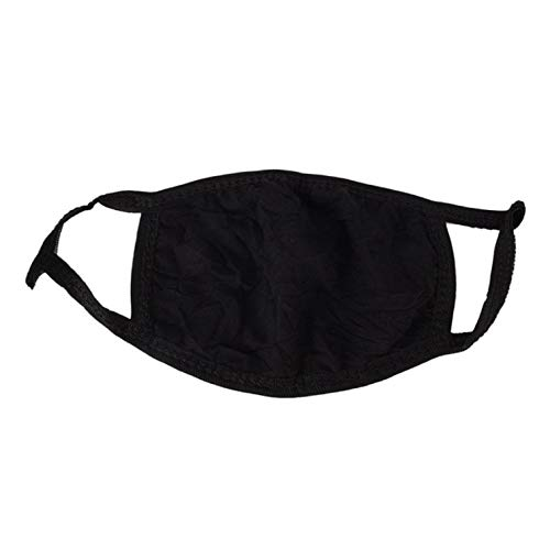 Breathable Black Mouth Mask Unisex Sponge Face Mask Reusable Anti Pollution Face Shield Wind Proof Mouth Cover B