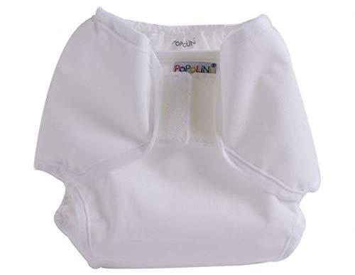 Popolini Popowrap sopra i pantaloni altezza M bianco