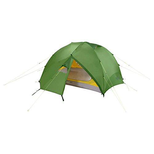 Jack Wolfskin Mädchen Yellowstone II Vent 2 Eingänge 2 Personen Kuppelzelt Zelt, Cactus Green, ONE Size