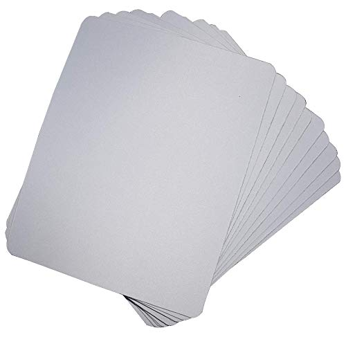 10pcs Sublimation Mouse Pad Blank Mouse Pad Sublimation Blanks Mousepad for Sublimation Transfer Heat Press Printing Crafts Non Slip Bottom 24x20x0.3CM Photo #2