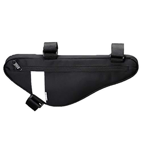 LIOOBO Fahrrad dreieck Rahmen Tasche reflektierende wasserdichte MTB fahrradaufbewahrung oberrohr Tasche leichte Sattel Rahmen Tasche für handys geldbörsen Werkzeuge