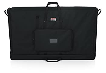 Gator Cases Padded Nylon Carry Tote Bag for Transporting LCD Screens Monitors and TVs  Fits 50  Screens  G-LCD-TOTE50