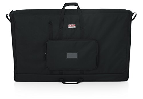 Gator Cases Padded Nylon Carry Tote Bag for Transporting LCD Screens, Monitors and TVs; 50' Screen Size (G-LCD-TOTE50)