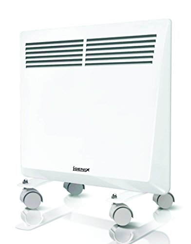 Igenix Panel Heater with 24 Hour Timer, 1000 Watt, Wh