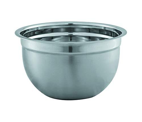 Avanti Deep Mixing Bowl, 22 cm Diameter, Silver
