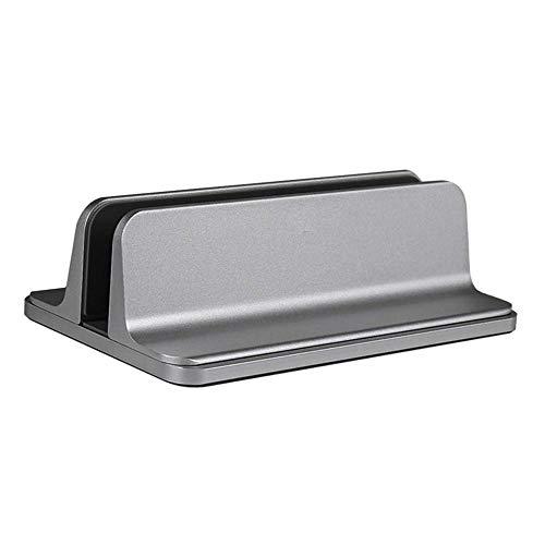 Duhe Vertical Laptop Stand Aluminum Alloy Notebook Desktop Stand Adjustable Laptop Holder