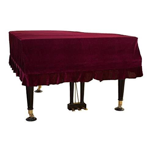 G-AO terciopelo de oro de la cubierta de piano accesorios fo