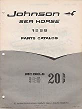 1968 JOHNSON SEA-HORSE OUTBOARD 20 HP PARTS MANUAL 383041 (271)