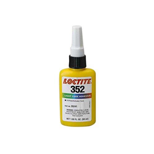 352 Light Curing High Viscosity Acrylic Adhesive, 50mL Bottle