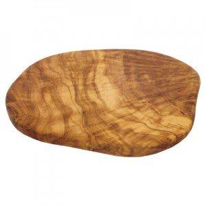 D.O.M. Olive Wood Vajilla de Desayuno y Tabla de Cortar de Madera de Olivo