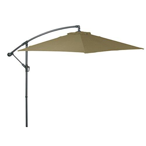 greemotion Parasol de Jardin, Anthracite/Sable