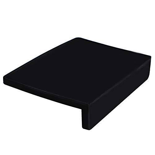 watchget Espresso Tamping Mat, High-Grip Black Silicone Corner Tamping and Packing Mat, Protect Your Barista Countertop