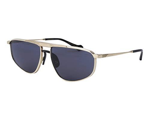 Gucci Gafas de sol GG0841S 001 Gafas de sol Hombre color Gris oro tamaño de la lente 60 mm