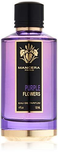 Price comparison product image MANCERA Purple Flowers Eau De Parfum Spray,  4 Fl Oz