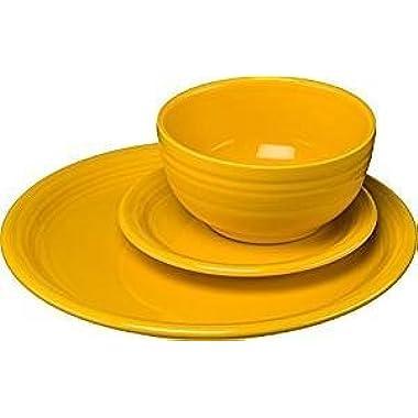 Fiestaware 3 Piece Bistro Set Daffodil 1482342