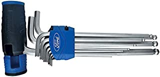 Ford Tools Extra Long T Handle Ball Hex Key Set of 9, FHT-H-0034, 1 Piece