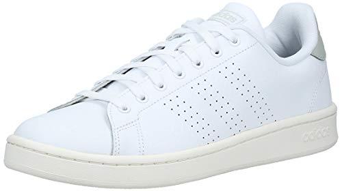 adidas Advantage EE7683 Blanc Blanc Gris Argentã, 39 1/3