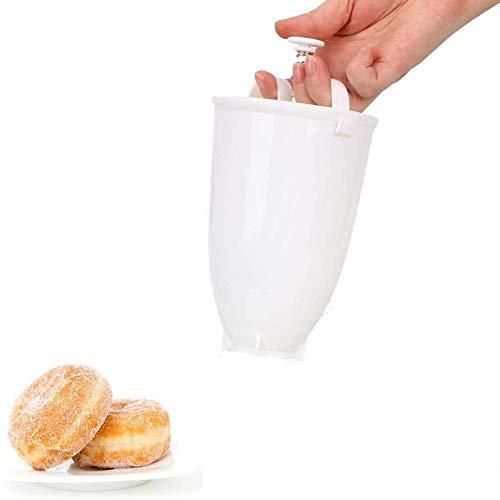 Pamura - Happy Donut - Donut Maker - Donut Backform - Teigspender - für köstliche...