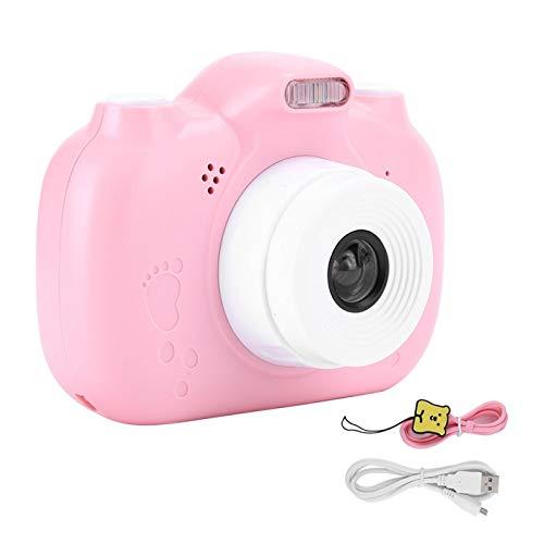 Surebuy Cámara de vídeo de la cámara de los niños del Tiro 1080P para el teléfono móvil(Cute Pink, Pisa Leaning Tower Type)