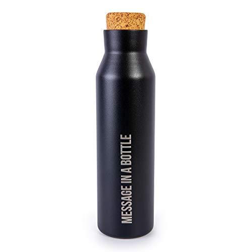 Botella térmica Inox Negra 500 ml
