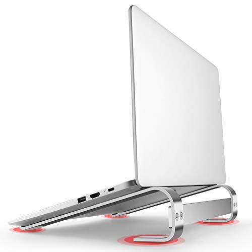 KELUNIS Portable Laptop Stand, Aluminum Support Notebook Riser for MacBook Air Pro Base Computer Holder Cooling Bracket