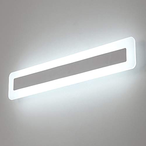 Yafido LED 14W Badleuchte 900Lumen 40CM 230V 6000K IP44 Spiegelleuchte Badlampe Spiegellampe Kaltweiß badezimmer Schrankleuchte Wandlampe Wandleuchte