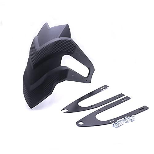 EnthusiasmX Accesorios para automóviles Universal 14-18 Pulgadas Motocicleta Rueda Trasera Fender Guard Mudguard Soporte Kit Fit para Kawasaki Z250 CB190R Accesorios de la Motocicleta