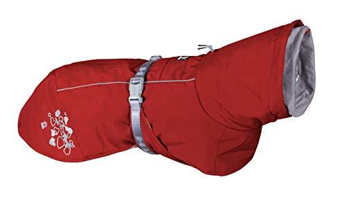 Hurtta Extreme Warmer Hundemantel, Winterjacke für Hunde, Weinrot 35cm